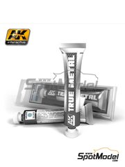 AK Interactive: AK True Metal product - Silver image