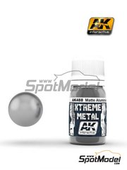 AK Interactive: Xtreme metal paint - Matte aluminium