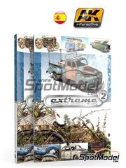 AK Interactive: Libro - Extreme2 - Extreme Weathered vehicles + Extreme reality: idioma Inglés