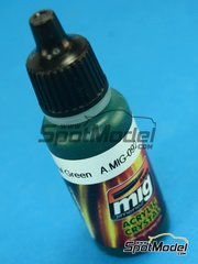 AMMO of Mig Jimenez: Acrylic paint - Crystal Green - 17ml