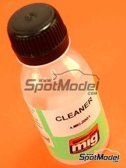 AMMO of Mig Jimenez: Cleaner - Universal cleaner for acrylic paints - 100ml - for Airbrush or brush