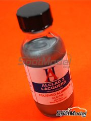 Alclad: Paint - Polished Aluminium - 30ml bottle - for Airbrush