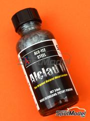 Alclad: Paint - Steel - 1 x 30ml - for Airbrush