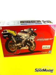 Aoshima: Model bike kit 1/12 scale - Honda NSR250R SP Rothmans 1988