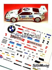Arena: Model car kit 1/43 scale - BMW M1 Procar #2 - Bernard Darniche (FR) - Rally Du Var 1982 - resin multimaterial kit