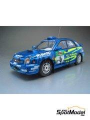 Arena: Model car kit 1/43 scale - Subaru Impreza - Markku Alén (FI) + Ilkka Riipinen (FI) 2002 - resin multimaterial kit