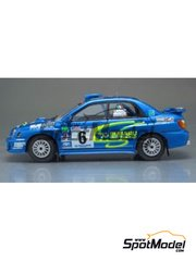 Arena: Model car kit 1/43 scale - Subaru Impreza - Piero Longhi (IT) - San Marino Rally 2003 - resin multimaterial kit