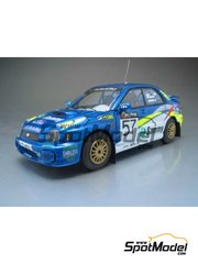 Arena: Model car kit 1/43 scale - Subaru Impreza - Toshihiro Arai (JP) + Tony Sircombe (NZ) - Australian Rally 2002 - resin multimaterial kit