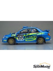 Arena: Model car kit 1/43 scale - Subaru Impreza - Richard Burns (GB) - Australian Rally 2002 - resin multimaterial kit