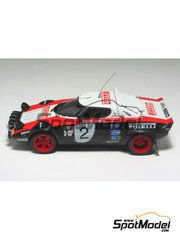 Arena: Model car kit 1/43 scale - Lancia Stratos Pirelli - Costa Brava Rally 1978 - resin multimaterial kit