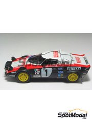Arena: Model car kit 1/43 scale - Lancia Stratos Pirelli - ADAC Deutschland Rally 1978 - resin multimaterial kit