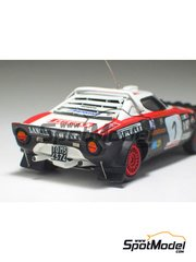 Arena: Model car kit 1/43 scale - Lancia Stratos EX-Pirelli - San Marino Rally 1978 - resin multimaterial kit
