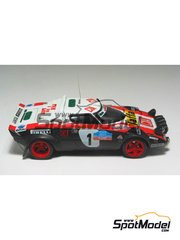 Arena: Model car kit 1/43 scale - Lancia Stratos EX-Pirelli - Targa Florio 1979 - resin multimaterial kit