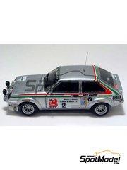 Arena: Model car kit 1/43 scale - Vauxhall Chevette HS DTV - Pentti Airikkala (FI) + Risto Virtanen (FI) - Galway International Rally 1978 - resin multimaterial kit