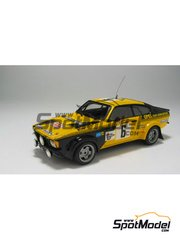 Car kit 1/43 by Arena - Opel Kadett GTE 2000  - Nicolas - Tour de Corse 1978 - resin multimaterial kit