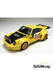 Arena: Model car kit 1/43 scale - Porsche 911 Carrera RSR - Tormene + Cernigai - Rally Valli 1976 - resin multimaterial kit