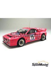 Arena: Model car kit 1/43 scale - Lancia Rally 037 - Gauthier + Garrigues 1984 - resin multimaterial kit