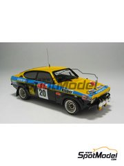 Car kit 1/43 by Arena - Opel Kadett GTE 1999  - Ormezzano + Meihoas - Sanremo rally 1977 - resin multimaterial kit image