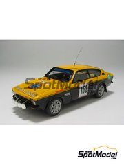 Car kit 1/43 by Arena - Opel Kadett GTE 1999  - Bettega + Albertoni - San Martino di Castrozza Rally 1977 - resin multimaterial kit