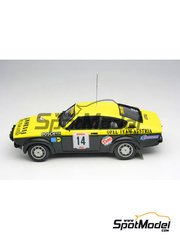 Car kit 1/43 by Arena - Opel Kadett GTE 1999  - Wittman - San Martino di Castrozza Rally 1978 - resin multimaterial kit
