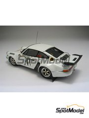 Arena: Model car kit 1/43 scale - Porsche 911 Carrera RS 3000 - Walter Röhrl (DE) + Pitz 1976 - resin multimaterial kit