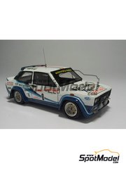 Arena: Model car kit 1/43 scale - Fiat 131 Abarth - Tony + Scabini - San Martino di Castrozza Rally 1977 - resin multimaterial kit