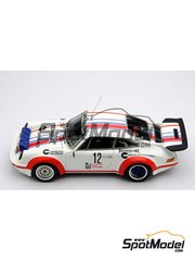 Arena: Model car kit 1/43 scale - Porsche 911 Carrera 3000 - Luiggi Dalla Pozza (IT) - Rally Valli 1977 - resin multimaterial kit