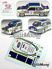 Arena: Model kit 1/25 scale - Fiat 131 Abarth