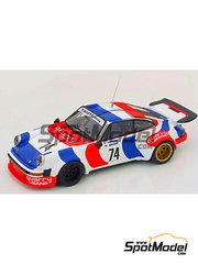 Arena: Model car kit 1/43 scale - Porsche 934 Quarry Jeans - Caliceti - Targa Florio - resin multimaterial kit