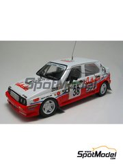 Arena: Decals 1/43 scale - Citroen Visa Team Australian - Martino + Serena - Elba Rally 1984