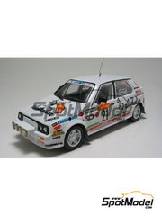 Arena: Model car kit 1/43 scale - Citroen Visa - Caneva + Loris Roggia (IT) - Sanremo Rally 1984 - resin multimaterial kit