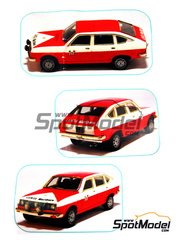 Arena: Model car kit 1/43 scale - Lancia Beta Assistenza Lancia Marlboro 1972, 1973 and 1974 - resin multimaterial kit