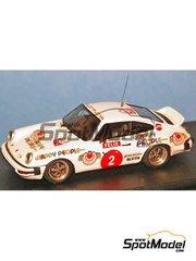 Arena: Model car kit 1/43 scale - Porsche 911 SC Happy People - Per Eklund (SE) + Björn 'Kapten' Cederberg (SE) - 1000 Lakes Finland Rally 1978 - resin multimaterial kit