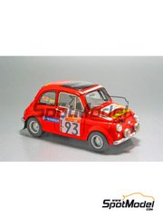 Arena: Model car kit 1/43 scale - Fiat 500 Rally - Galetto + Tinelli - Sanremo Rally 1980 - resin multimaterial kit