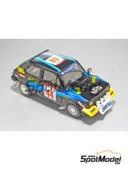 Arena: Model car kit 1/43 scale - Fiat 127 Team Albanese - Molino + Khan - Safari Rally 1981 - resin multimaterial kit