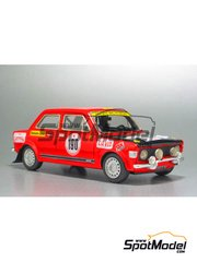 Arena: Model car kit 1/43 scale - Fiat 128 Rally - Attilio Bettega (IT) - San Martino di Castrozza Rally 1972 - resin multimaterial kit