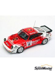 Arena: Model car kit 1/43 scale - Porsche 911 SCRS Team Belga - Guy Colsoul (BE) - 24 Hours de Ypres Rally 1985 - resin multimaterial kit