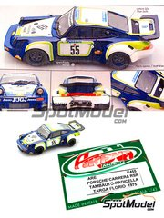 Arena: Model car kit 1/43 scale - Porsche 911 Carrera RSR Tambauto #55 - Radicella - Targa Florio 1975 - resin multimaterial kit