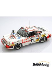 Arena: Model car kit 1/43 scale - Porsche 911 SC Eminence - Sandro Munari (IT) + Street - Safari Rally 1982 - resin multimaterial kit