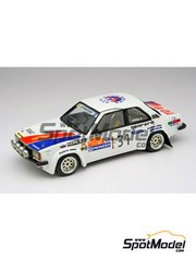 Arena: Model car kit 1/43 scale - Opel Ascona Carenini - Massimo 'Miki' Biasion (IT) + Tiziano Siviero (IT) - Sanremo Rally 1980 - resin multimaterial kit