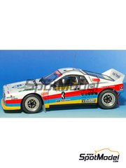 Arena: Model car kit 1/43 scale - Lancia Rally 037 - Tiziano + Condotta - Rally del Santo 1985 - resin multimaterial kit