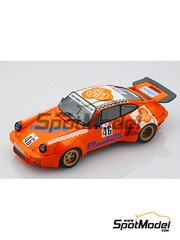 Arena: Model car kit 1/43 scale - Porsche 911 RSR - Restivo + Apache - Targa Florio 1975 - resin multimaterial kit