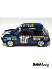 Arena: Model car kit 1/43 scale - Autobianchi A 112 - Attilio Bettega (IT) - San Martino di Castrozza Rally 1977 - resin multimaterial kit
