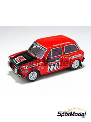 Arena: Model car kit 1/43 scale - Autobianchi A 112 - Tonino Tognana (IT) + Chick 1978 - resin multimaterial kit
