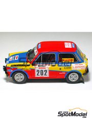 Arena: Model car kit 1/43 scale - Autobianchi A 112 - Fusaro + Trevisan - San Martino di Castrozza Rally 1977 - resin multimaterial kit