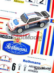 Arena: Model kit 1/25 scale - Porsche 911 SCRS