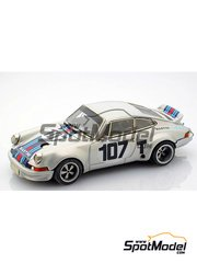 Arena: Model car kit 1/43 scale - Porsche 911 RSR Test #107 - Targa Florio 1973 - resin multimaterial kit