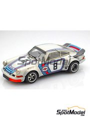 Arena: Model car kit 1/43 scale - Porsche 911 RSR #8 - Herbert Müller (CH) + Gijs van Lennep (NL) - Targa Florio 1973 - resin multimaterial kit