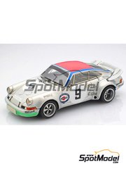 Arena: Model car kit 1/43 scale - Porsche 911 RSR #9 - Claude Haldi (CH) + Leo Kinnunen (FI) - Targa Florio 1973 - resin multimaterial kit