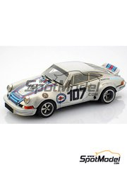 Arena: Model car kit 1/43 scale - Porsche 911 RSR #107 - Pucci + Stekkonig - Targa Florio 1973 - resin multimaterial kit